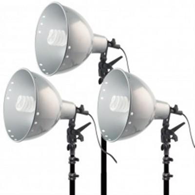 Helios Biglamp 501 Maxi-Kit Studioleuchten 3er-Set