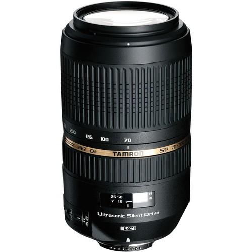Tamron SP AF 70-300mm f/4-5.6 Di VC USD Objektiv für Nikon