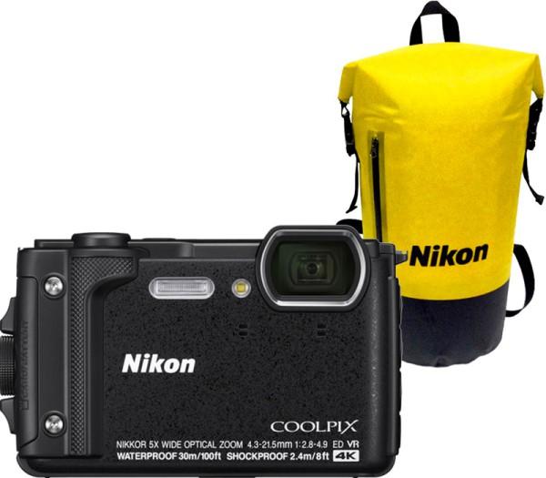 Nikon Coolpix W300 Holiday Kit schwarz