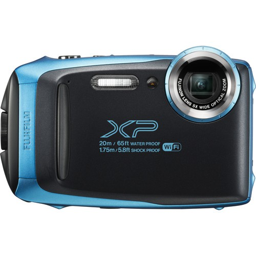 Fujifilm FinePix XP130 blau - Frontansicht