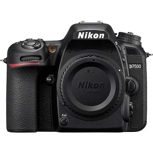 Nikon D7500 Gehäuse - Frontansicht