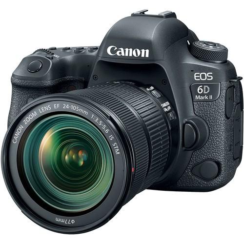 Canon EOS 6D Mark II Kit - Schrägansicht
