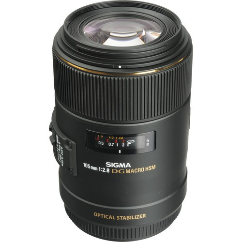 Sigma AF 105mm f/2.8 EX DG OS HSM Macro Objektiv für Sony