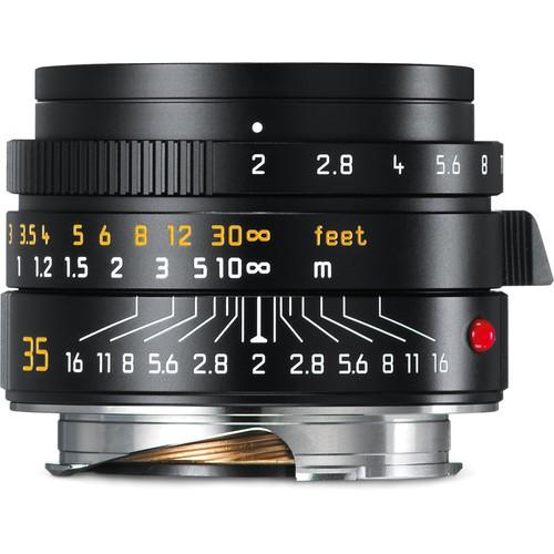 Leica Summicron-M 35mm f/2 ASPH. - Frontansicht