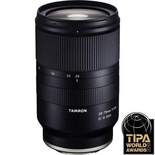 Tamron 28-75mm f/2.8 Di III RXD Objektiv für Sony - Frontansicht