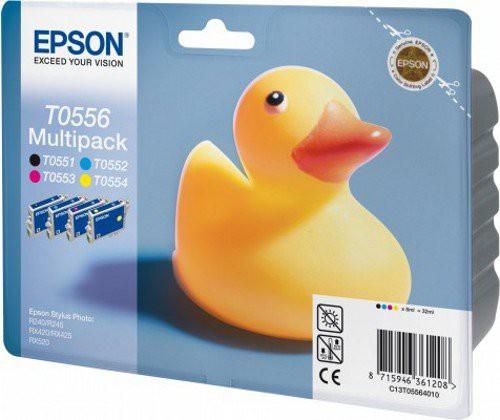 Epson T0556 Tintenpatrone Multipack 4-färbig