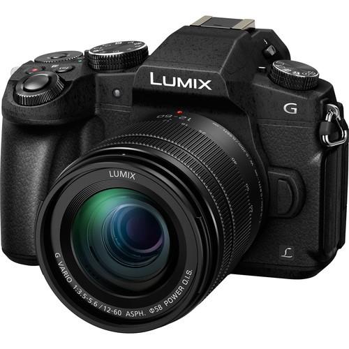 Panasonic Lumix DMC-G81 Kit - Schrägansicht
