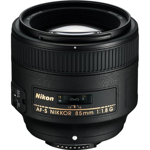 Nikon AF-S 85mm f/1.8 G Objektiv