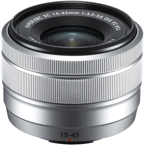 Fujifilm XC 15-45mm f/3.5-5.6 O.I.S. PZ Objektiv silber