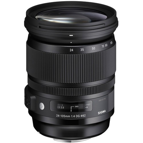 Sigma Art 24-105mm F4.0 DG OS HSM Objektiv - Frontansicht