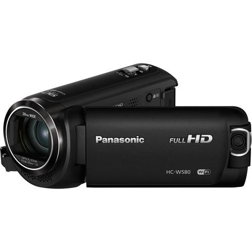 Panasonic HC-W580K - Schrägansicht