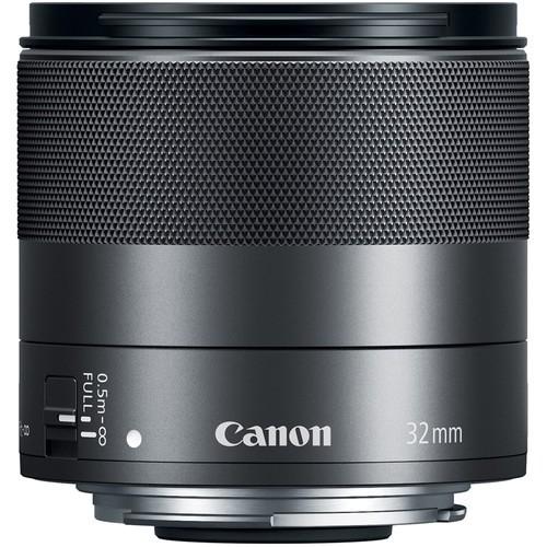 Canon EF-M 32mm f/1.4 STM Objektiv - Frontansicht