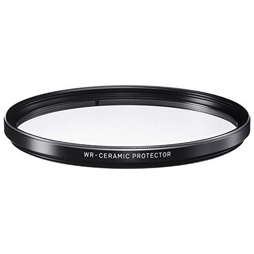 Sigma WR Ceramic Protector 82mm Filter - Frontansicht