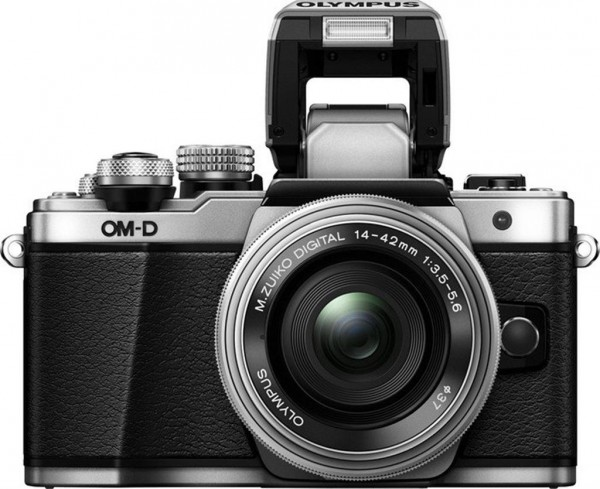 Olympus OM-D E-M10 Mark II Kit - Frontansicht