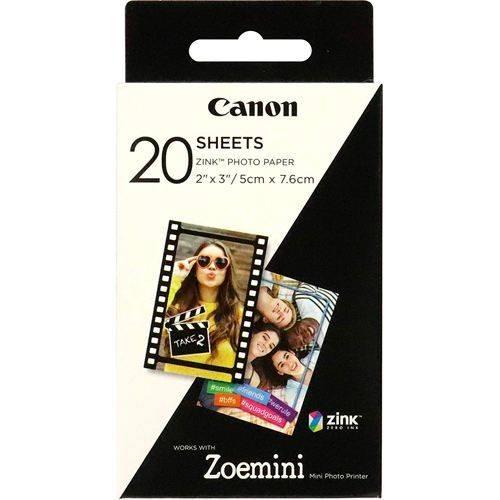 Canon Zink Fotopapier 20 Blatt für Zoemini - Frontansicht