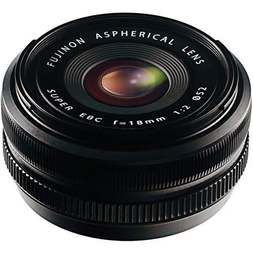 Fujifilm XF 18mm f/2 Fujinon Objektiv