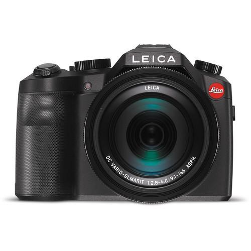 Leica V-Lux Typ 114 schwarz - Frontansicht