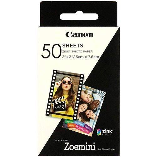 Canon Zink Fotopapier 50 Blatt für Zoemini - Frontansicht