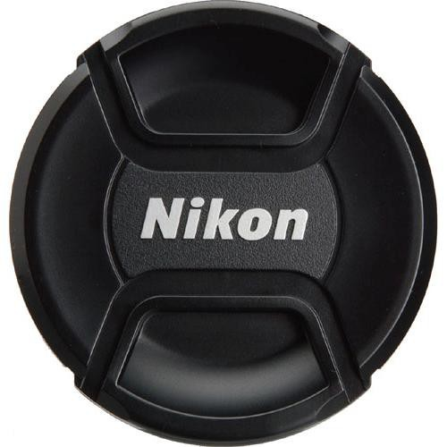 Nikon LC-58 Objektivdeckel 58mm - Frontansicht