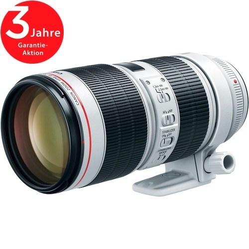 Canon EF 70-200mm f/2.8L IS III USM Objektiv - Schrägansicht