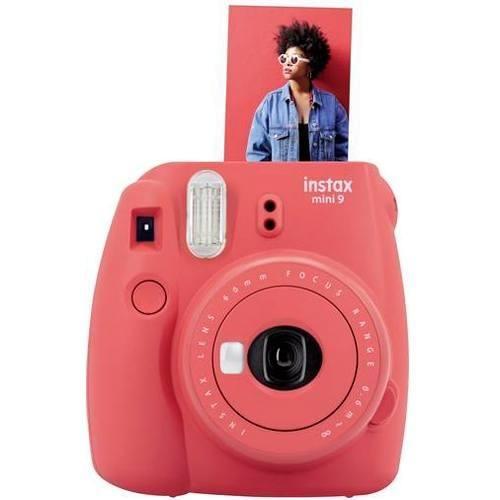 Fujifilm Instax Mini 9 Sofortbildkamera Poppy Red (Limited Edition) - Frontansicht