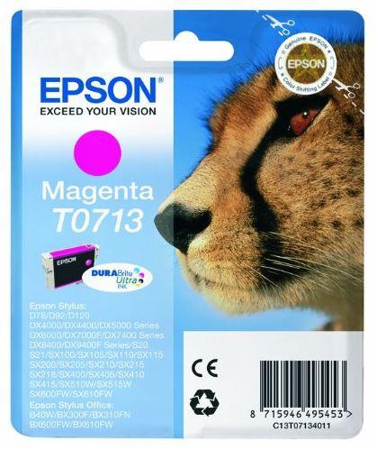 Epson T0713 Tintenpatrone magenta für D78