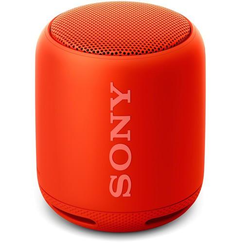 Sony SRS-XB10 Bluetooth Lautsprecher rot - Frontansicht