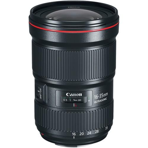 Canon EF 16-35mm F2.8 L III USM Objektiv - Frontansicht