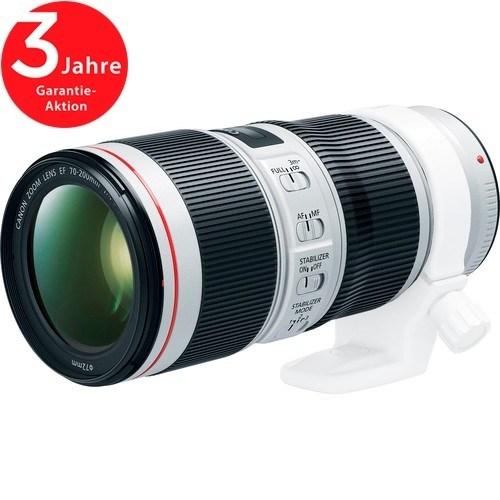 Canon EF 70-200mm f/4L IS II USM Objektiv - Schrägansicht