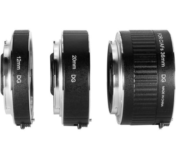 Kenko Zwischenring Set DG AF 12/20/36mm für Canon - Seitenansicht