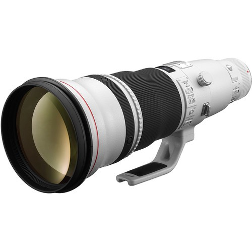 Canon EF 600mm f/4 L IS II USM - Frontansicht