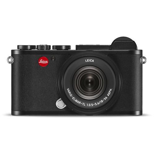 Leica CL Kit mit 18-56mm Objektiv - Frontansicht