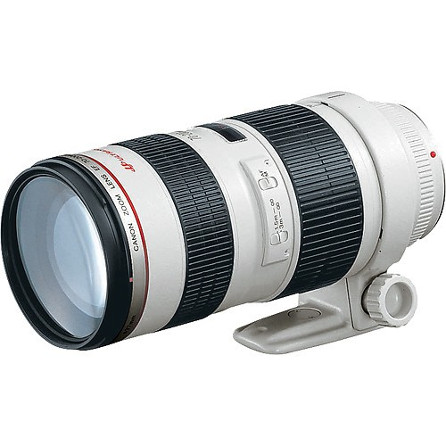 Canon EF 70-200mm f/2.8 L USM - Frontansicht