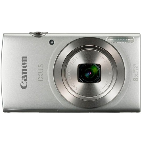 Canon IXUS 185 Kompaktkamera silber - Frontansicht