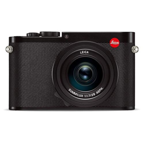Leica Q Typ 116 schwarz - Frontansicht