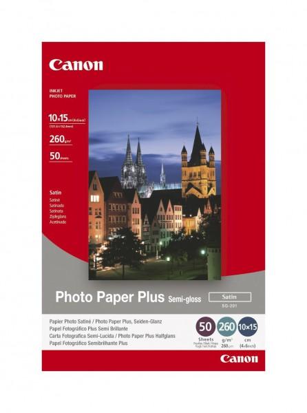 Canon SG-201 Fotopapier seidenglanz 10x15cm 50 Blatt (260g/qm)