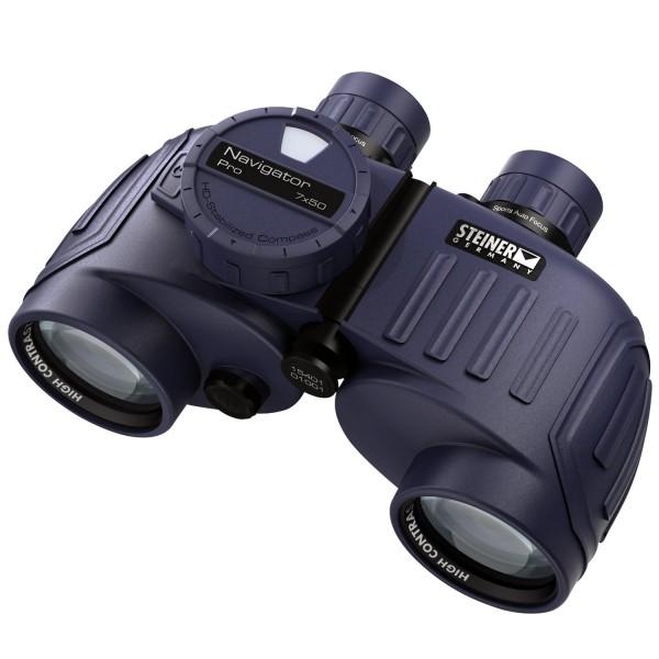 Steiner Navigator Pro 7x50 Kompass Fernglas - Frontansicht