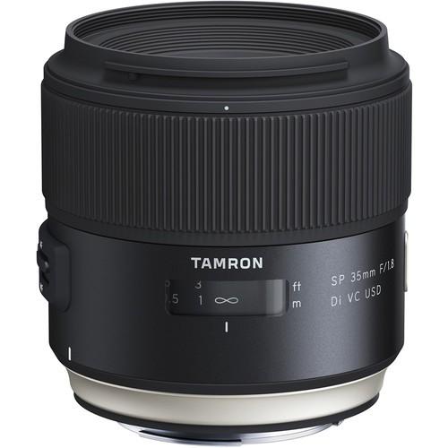 Tamron SP 35mm f/1.8 Di VC USD Objektiv - Frontansicht