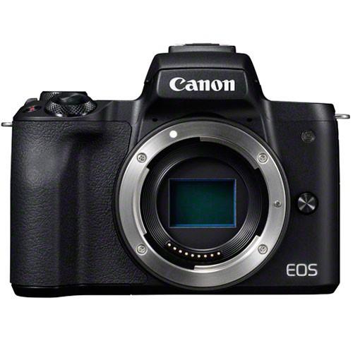 Canon EOS M50 Gehäuse schwarz - Frontansicht