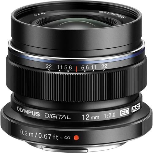 Olympus M.Zuiko Digital ED 12mm f/2 Objektiv