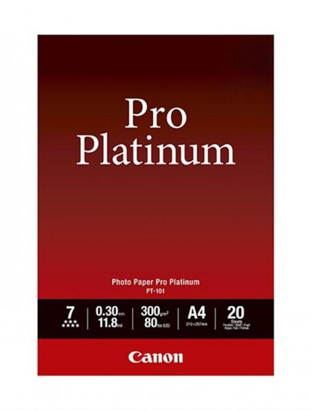 Canon PT-101 Platinum Fotopapier A4 20 Blatt (300g/qm)