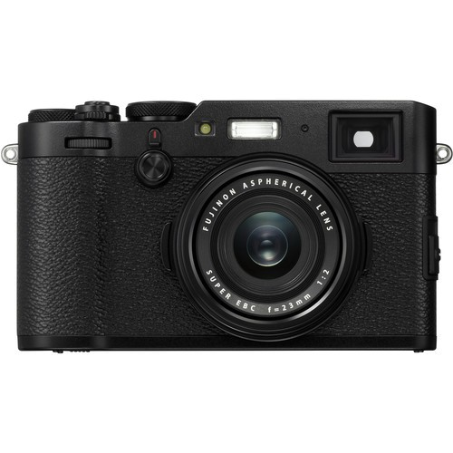 Fujifilm FinePix X100F schwarz - Frontansicht