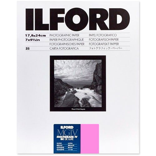 Ilford Multigrade IV 1M, Fotopapier (PE) 18x24cm 25 Blatt - Frontansicht