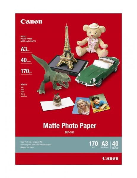 Canon MP-101 Fotopapier matt A3 40 Blatt (170g/qm)
