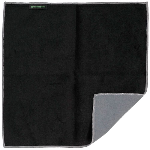 Easy Wrapper selbsthaftendes Einschlagtuch schwarz (47 x 47 cm) - Frontansicht