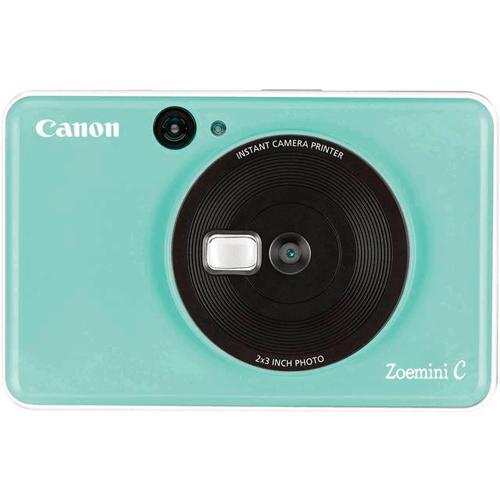 Canon Zoemini C Sofortbildkamera grün - Frontansicht