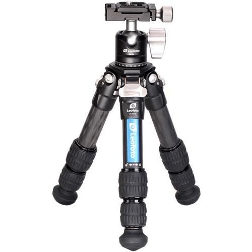 Leofoto Ranger LS-223C Carbon Stativ mit LH-25 Kugelkopf - Frontansicht