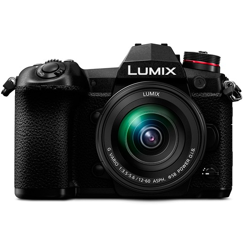 Panasonic Lumix G9 Kit mit 12-60mm Objektiv - Frontansicht