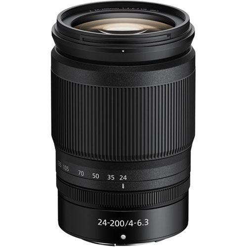 Nikon Z 24-200mm f/4-6.3 VR Objektiv - Frontansicht