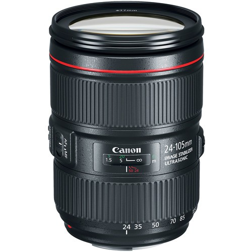 Canon EF 24-105mm F4 L IS II USM - Frontansicht